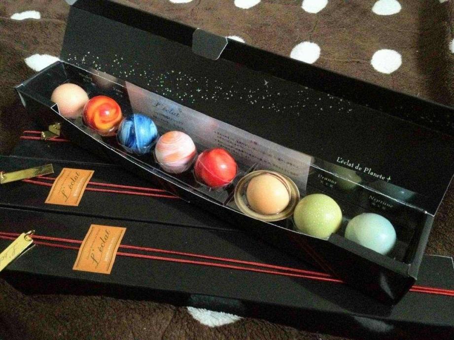 行星松露巧克力