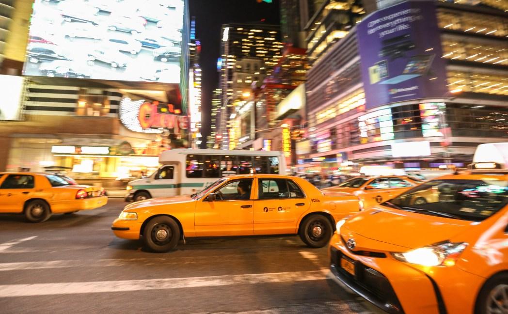 東京自由行-計程車