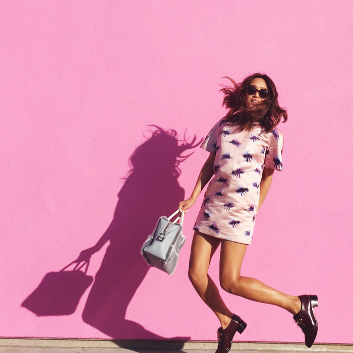 The Paul Smith Pink Wall-Song of Style