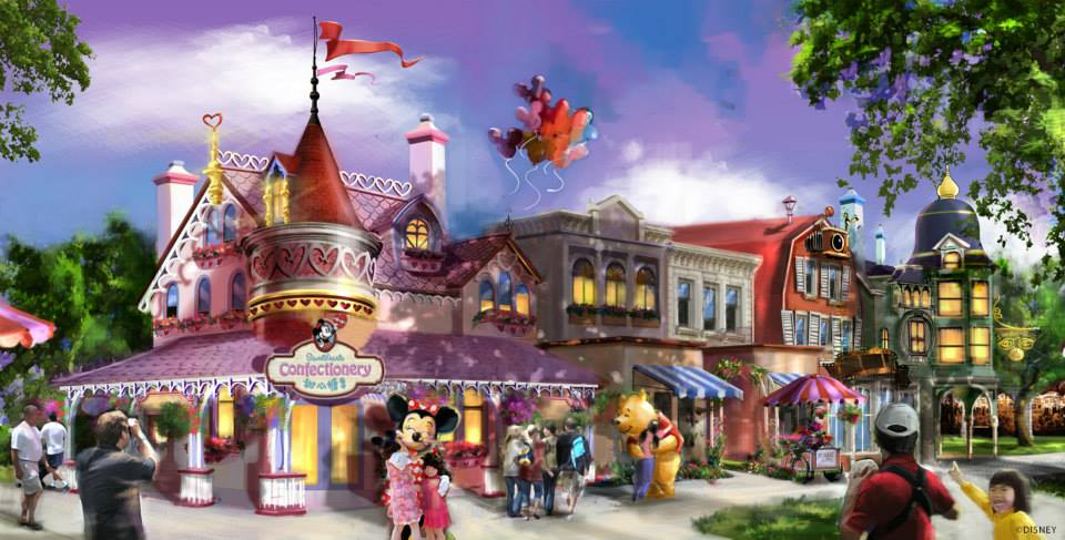 Shanghai Disneyland characters