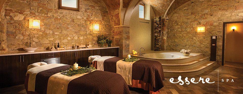 spa in a castle