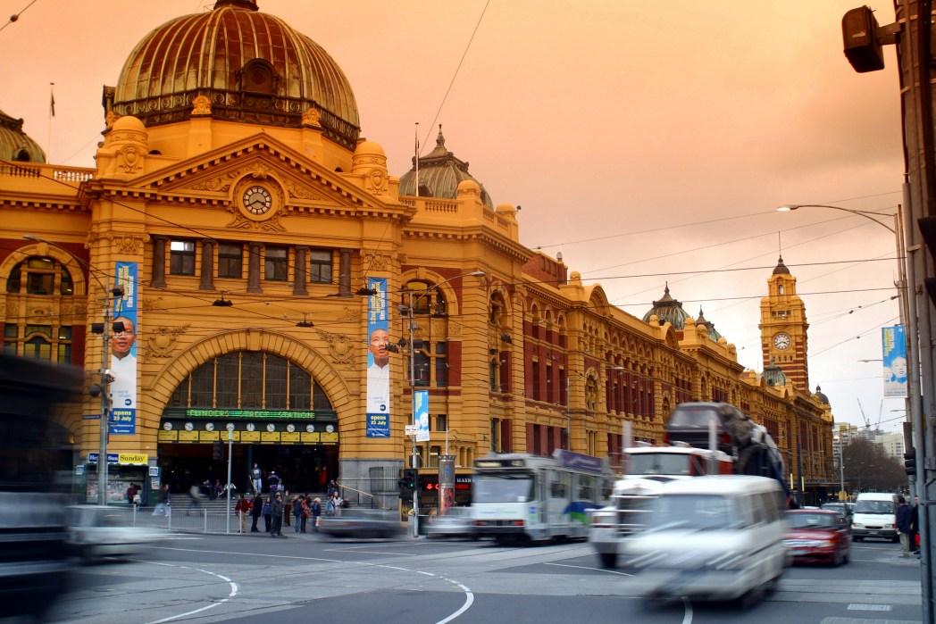 Flinderstreet station Melbourne