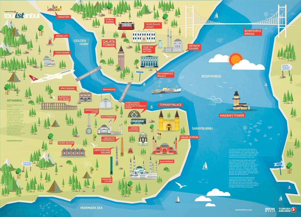 map of transit trip
