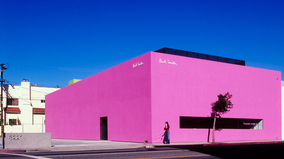 The Paul Smith Pink Wall-Los Angeles