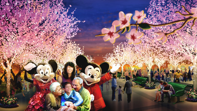 Shanghai Disneyland 12 friends